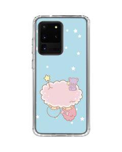 Little Twin Stars Puffy Cloud Galaxy S20 Ultra 5G Clear Case