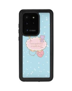 Little Twin Stars Puffy Cloud Galaxy S20 Ultra 5G Waterproof Case