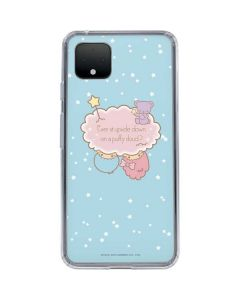 Little Twin Stars Puffy Cloud Google Pixel 4 XL Clear Case
