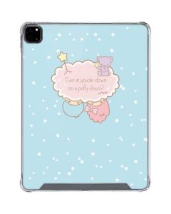Little Twin Stars Puffy Cloud iPad Pro 12.9in (2020) Clear Case