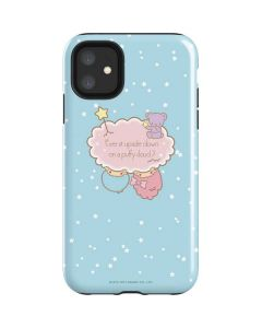 Little Twin Stars Puffy Cloud iPhone 11 Impact Case
