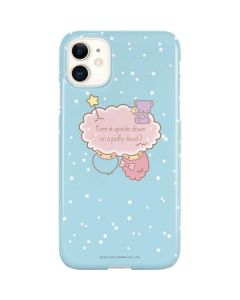 Little Twin Stars Puffy Cloud iPhone 11 Lite Case