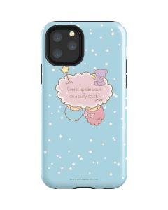 Little Twin Stars Puffy Cloud iPhone 11 Pro Impact Case