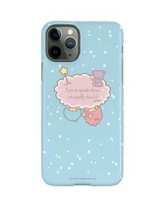 Little Twin Stars Puffy Cloud iPhone 11 Pro Lite Case