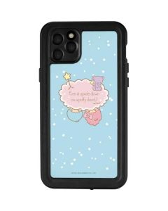 Little Twin Stars Puffy Cloud iPhone 11 Pro Max Waterproof Case