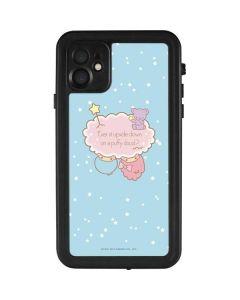 Little Twin Stars Puffy Cloud iPhone 11 Waterproof Case