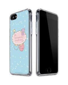 Little Twin Stars Puffy Cloud iPhone SE Clear Case