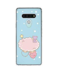 Little Twin Stars Puffy Cloud LG Stylo 6 Clear Case