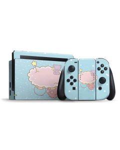Little Twin Stars Puffy Cloud Nintendo Switch Bundle Skin