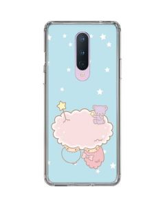 Little Twin Stars Puffy Cloud OnePlus 8 Clear Case