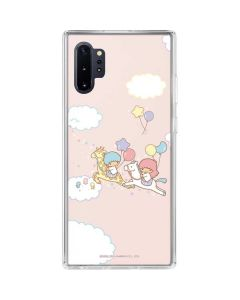 Little Twin Stars Riding Galaxy Note 10 Plus Clear Case