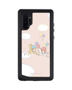 Little Twin Stars Riding Galaxy Note 10 Plus Waterproof Case