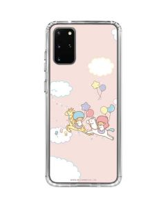 Little Twin Stars Riding Galaxy S20 Plus Clear Case