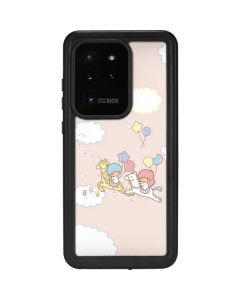 Little Twin Stars Riding Galaxy S20 Ultra 5G Waterproof Case