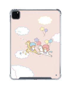 Little Twin Stars Riding iPad Pro 11in (2020) Clear Case