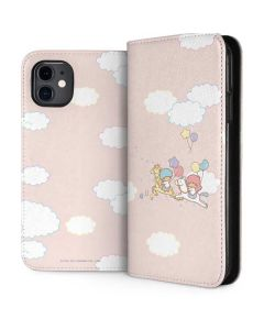 Little Twin Stars Riding iPhone 11 Folio Case