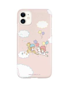 Little Twin Stars Riding iPhone 11 Lite Case