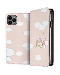 Little Twin Stars Riding iPhone 11 Pro Max Folio Case