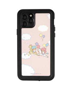Little Twin Stars Riding iPhone 11 Pro Waterproof Case