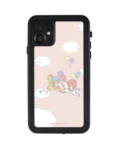 Little Twin Stars Riding iPhone 11 Waterproof Case