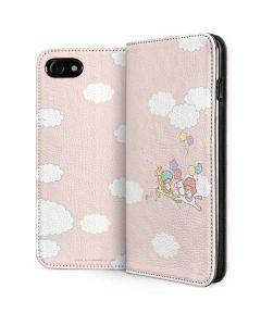 Little Twin Stars Riding iPhone SE Folio Case