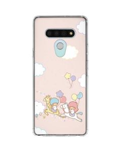 Little Twin Stars Riding LG Stylo 6 Clear Case