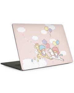 Little Twin Stars Riding Apple MacBook Pro 15-inch Skin