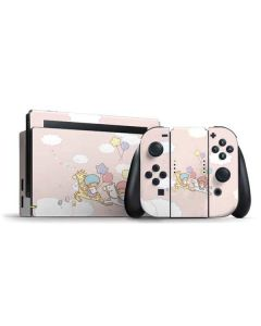 Little Twin Stars Riding Nintendo Switch Bundle Skin