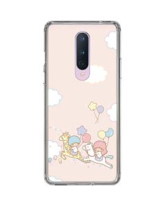 Little Twin Stars Riding OnePlus 8 Clear Case
