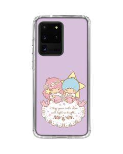 Little Twin Stars Shine Galaxy S20 Ultra 5G Clear Case
