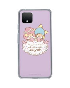 Little Twin Stars Shine Google Pixel 4 Clear Case