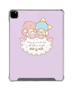 Little Twin Stars Shine iPad Pro 12.9in (2020) Clear Case