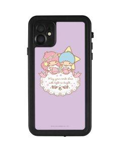 Little Twin Stars Shine iPhone 11 Waterproof Case