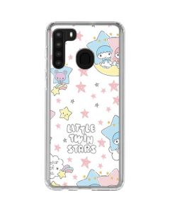 Little Twin Stars Shooting Star Galaxy A21 Clear Case