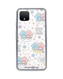 Little Twin Stars Shooting Star Google Pixel 4 Clear Case