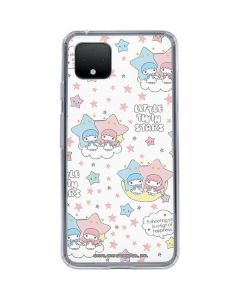 Little Twin Stars Shooting Star Google Pixel 4 XL Clear Case