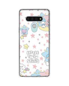 Little Twin Stars Shooting Star LG Stylo 6 Clear Case