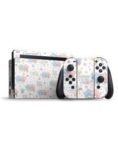 Little Twin Stars Shooting Star Nintendo Switch Bundle Skin