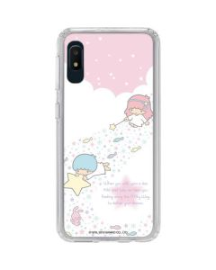 Little Twin Stars Wish Upon A Star Galaxy A10e Clear Case