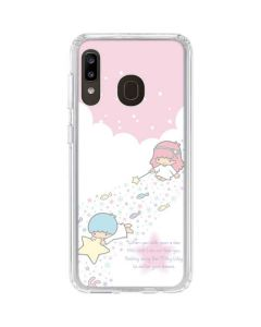 Little Twin Stars Wish Upon A Star Galaxy A20 Clear Case