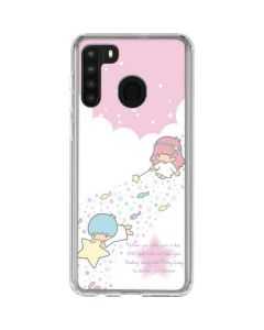 Little Twin Stars Wish Upon A Star Galaxy A21 Clear Case