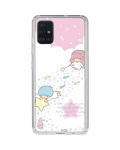 Little Twin Stars Wish Upon A Star Galaxy A51 Clear Case