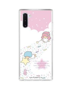 Little Twin Stars Wish Upon A Star Galaxy Note 10 Clear Case