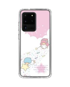 Little Twin Stars Wish Upon A Star Galaxy S20 Ultra 5G Clear Case