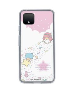 Little Twin Stars Wish Upon A Star Google Pixel 4 Clear Case