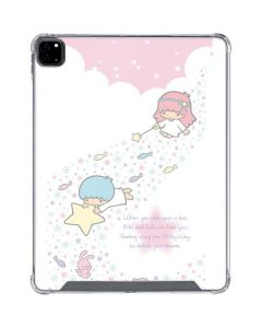 Little Twin Stars Wish Upon A Star iPad Pro 12.9in (2020) Clear Case