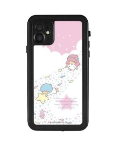 Little Twin Stars Wish Upon A Star iPhone 11 Waterproof Case
