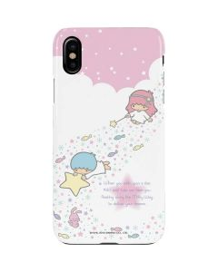 Little Twin Stars Wish Upon A Star iPhone XS Max Lite Case