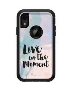 Live In The Moment Pastel Otterbox Defender iPhone Skin