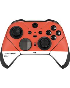 Living Coral Xbox Elite Wireless Controller Series 2 Skin